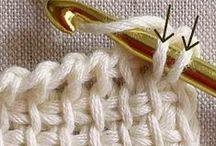 ♥ Crochet tutos / by L'atelier de mademoiselle petite plume