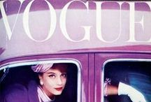 "Vogue / ""'Vogue' is a fashion magazine, and a fashion magazine is about change."" -Anna Wintour  / by Chloe Shoemaker"