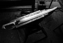 blades + blacksmithing / alan whitelaw tarafından
