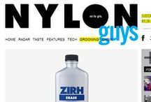 This just in... / Where ZIRH has been featured. / by ZIRH