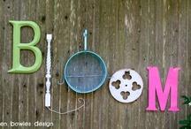 plants and outdoor ideas / by Melinda Elliott Bailey