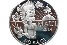 Things to Collect / Hawaii Maui Trade Dollar 2013 / by Maui Ocean Treasures