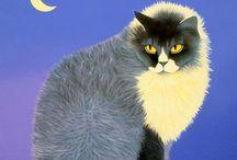 Art / Cats / art,sculpture,more / by twiela mckee