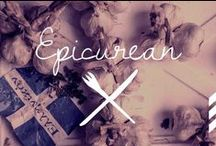 Epicurean / So we must exercise ourselves in the things which bring happiness... / by Love Floris