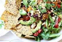 Vegan recipes - Salads / Want more great vegan recipes? Follow all 9 of my vegan recipe boards where I have over 3,000 recipes pinned. All recipes are vegan or easily modified. / by Julia Phelps