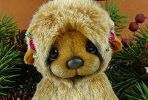 BEARY Cute!!! / cute cuddly teddy bears... gimme gimme! :) / by Diane Jones
