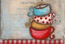 Mugs and cups / by Deb