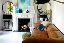 Stunning living areas / by BROOKE EVA