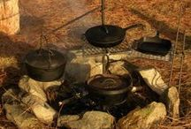 Cast Iron Cooking / Cast Iron recipes and cookware / by BoxDoc