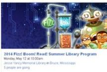 Fizz, Boom, Read! Summer Library Program 2014 / by Dixie Regional Library System