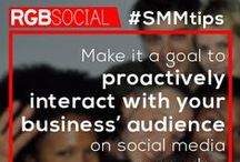 Social Media Marketing Tips / Tips and tricks to maximize the success of your social media marketing efforts. / by RGB Social
