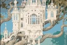 Tree Homes / by Susan Vineyard