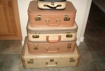 vintage luggage / by Sheri Smith