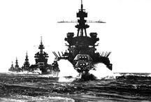 Military Ships - US Battleships & Cruisers / by Eric Lohman
