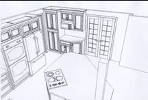 2D and 3D Designs and Drawings / Longfellow Design Build - 2D and 3D designs and drawings. / by Longfellow Design Build