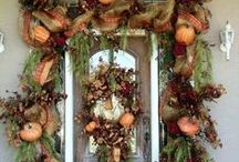 Fall Wreaths & Wall Decor / Ideas for this season / by Ashlee Hood