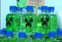 Minecraft Birthday Party ideas / by Julee Irish