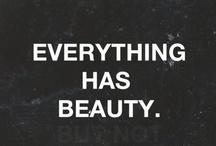 real beauty / by Faith Pahoundis