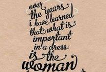 dresses / by Faith Pahoundis