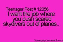 teenager posts / by Faith Pahoundis