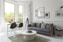 * scandinavian livingroom * / by Tina
