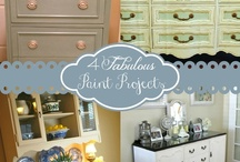 Paint Projects  and redo's  / by April Hibdon