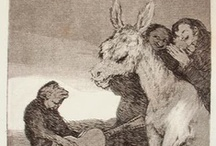 Old Masters - Goya / by Julian Williams Drawings
