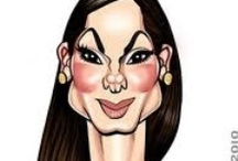 Pam's: Caricatures...Funny Cartoon Sketches...  / by Pennie & Pam