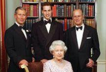 Great Britain & Northern Ireland. Gran Bretaña & Irlanda del Norte. Großbritannien & Nordirland. / Royal House of Windsor.  / by Pincipealberto