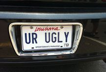 LICENSE PLATES / by Val Kosa