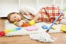 Organizing & Cleaning / by Katrien Thoen