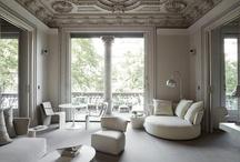 """- T O T A L  L O O K - / Greats """"ensembles"""": living room in general, salon / by Karolina S - K"""