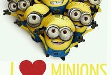 Minions  / idk, theres something about these things that are just so cute, I'm obsessed with them, I <3 them / by Khadijah Clemente