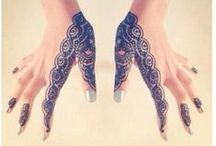 Henna tatts  / I've had henna tattoos twice and I love it. Hope to be a henna artist one day..  / by Khadijah Clemente