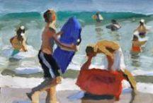 figurative paintings / figurative art / by Diana McLaughlin
