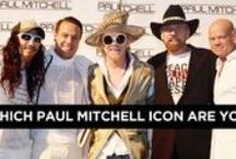 Industry Icons / Paul Mitchell Schools have developed beauty industry icons and have also been lucky enough to partner with celebrities, industry giants, and inspirational people in a wide variety of areas.  / by Paul Mitchell Schools