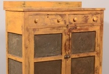 PIE SAFES & JELLY CUPBOARDS / by Elaine Brandt