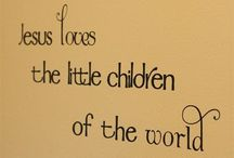 FACES OF INNOCENCE / Jesus loves the little children of the world. / by Colleen
