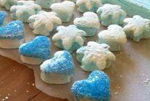 Wedding Marshmallows! / Showcasing our custom gourmet marshmallows for wedding events / by Fluff It! Marshmallows
