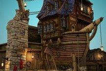 crazy houses / by Chris Johnson