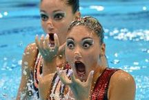 Synchronized : Simply Swim  / Synchronized Swimming <3 / by Simply Swim