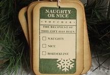 .✿⊱╮Christmas Gift Tags / Printable tags, how to gift tag ideas, etc. / by ♥•✿ڿڰۣ•♥•✿•♥ Pinkylaroo ♥•✿•♥•ڿڰۣ✿•♥