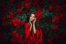 Red Photography Inspiration / by The Portrait Photography Group