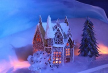 .✿⊱╮Gingerbread Village / Gingerbread houses & Ideas for decorating for them. / by ♥•✿ڿڰۣ•♥•✿•♥ Pinkylaroo ♥•✿•♥•ڿڰۣ✿•♥