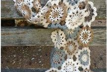 Tricot et crochet. Punto y ganchillo. Knit and crochet. / by Sara Pulseras