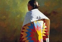 Fine Art - Native American / Artwork from Native American and non-Native American artists. / by Angela