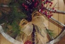 Christmas decorations and ornaments / by Jan Patterson