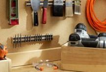 Garage Organization Ideas / Get your garage organized with these simple tips and project ideas! / by 3MDIY