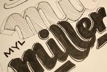 typography logo / by Mariya Songpunya