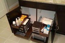 Bathroom Cabinets / by ShelfGenie